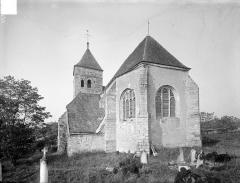 Eglise Saint-Loup - Ensemble est