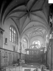 Eglise Saint-Loup - Vue intérieure du choeur, vers le nord-est
