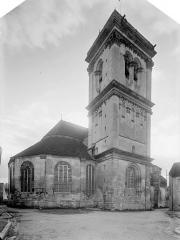 Eglise Saint-Pierre Saint-Paul - Ensemble nord-est : Abside et tour
