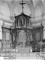 Eglise Notre-Dame - Maître-autel et retable