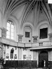 Chapelle Notre-Dame-la-Libératrice - Vue intérieure de la nef, vers le sud-ouest