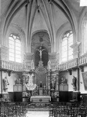 Chapelle Notre-Dame-la-Libératrice - Vue intérieure du choeur