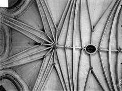 Chapelle Notre-Dame-la-Libératrice - Vue intérieure du choeur : Voûtes