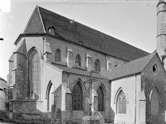 Eglise Saint-Hippolyte - Angle nord-est
