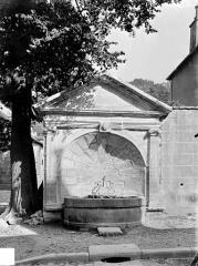 Fontaine publique dite Fontaine des Morts - Vue d'ensemble