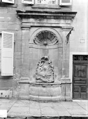Fontaine du Cheval Marin - Vue d'ensemble
