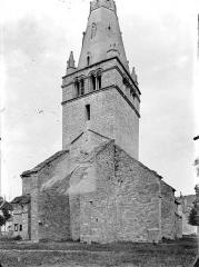 Eglise Notre-Dame de Mouthier-le-Vieillard - Angle sud-ouest