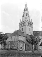 Eglise Notre-Dame de Mouthier-le-Vieillard - Angle nord-ouest