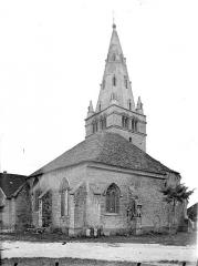 Eglise Notre-Dame de Mouthier-le-Vieillard - Angle sud-est