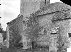 Eglise Notre-Dame de Mouthier-le-Vieillard - Façade sud : Partie ouest
