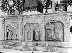 Eglise Notre-Dame de Mouthier-le-Vieillard - Retable