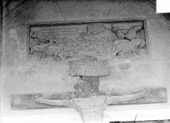 Eglise Saint-Hippolyte - Bas-relief : Martyre de saint Hippolyte