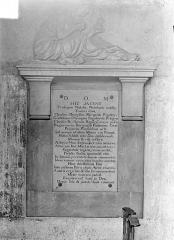 Eglise Saint-Michel - Monument funéraire des frères Rigoley de Puligny morts en 1769 et 1770, premiers présidents de la Chambre des Comptes