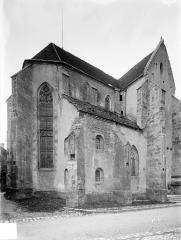 Eglise - Façade nord : Abside et transept