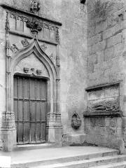 Eglise - Portail de la façade nord
