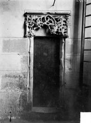 Eglise - Vue intérieure : Petite porte du clocher