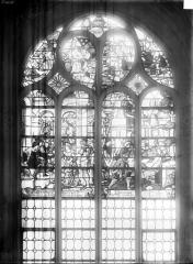 Cathédrale Saint-Maclou - Vitrail : Vie de saint Fiacre
