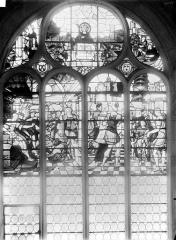 Cathédrale Saint-Maclou - Vitrail : Suzanne et les vieillards