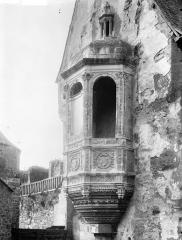Château - Tour de l'aumônerie : Echauguette