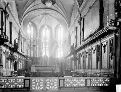Eglise des Cordeliers - Vue intérieure du choeur