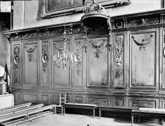 Eglise des Cordeliers - Vue intérieure du choeur : Boiseries