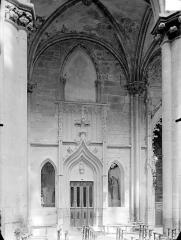 Eglise (collégiale) Notre-Dame - Vue intérieure d'une chapelle latérale