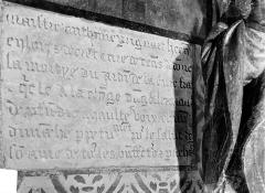 Eglise Saint-Léger - Inscription commémorative