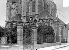 Eglise (collégiale) Notre-Dame - Abside, côté est