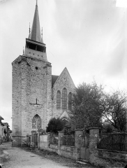 Eglise Notre-Dame - Ensemble ouest : Clocher