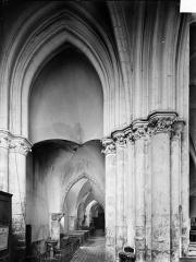 Eglise Notre-Dame - Vue intérieure du bas-côté nord