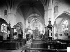 Eglise Notre-Dame - Vue intérieure du choeur vers le nord-est
