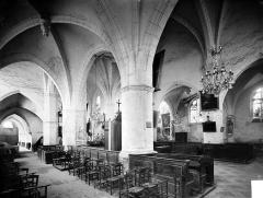 Eglise Notre-Dame - Vue intérieure du bas-côté sud et du choeur, vers le nord-ouest