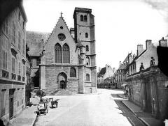 Eglise Saint-Jean - Façade nord : Partie ouest