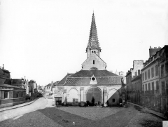 Eglise Saint-Philibert - Ensemble ouest