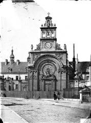 Hôpital général, ancien hospice du Saint-Esprit - Chapelle Sainte-Croix de Jérusalem : Ensemble ouest