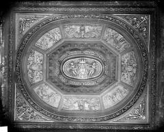 Palais de Justice - Salle des Assises : Plafond