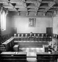 Palais de Justice - Chambre Dorée : Vue d'ensemble
