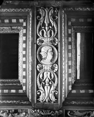Palais de Justice - Chambre Dorée : Plafond à caissons (détail)