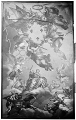 Palais des Ducs et des Etats de Bourgogne - Plafond peint