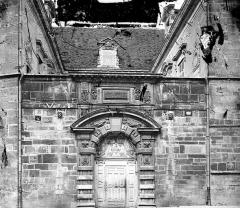 Hôtel de Vogüé - Façade sur rue : Portail