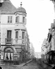 Immeuble, ancien hôtel Millière - Tourelle d'angle