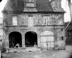 Hôtel Chartraire de Montigny et hôtel du Commandant militaire - Façade