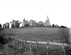 Château de Châteauneuf, actuellement musée - Vue générale