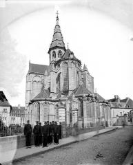 Eglise (collégiale) Notre-Dame - Ensemble est