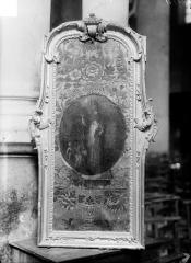 Eglise - Tableau, cuir