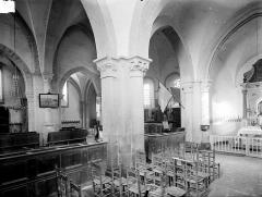Eglise - Vue intérieure du choeur, vers le nord-est