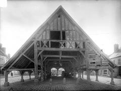 Halles - Façade nord