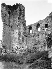 Château (vestiges) - Façade intérieure