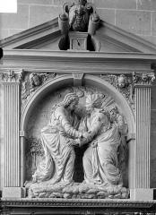 Cathédrale Saint-Etienne - Haut-relief, La Visitation
