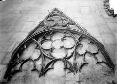 Cathédrale Notre-Dame - Fenêtre déposée : Partie supérieure